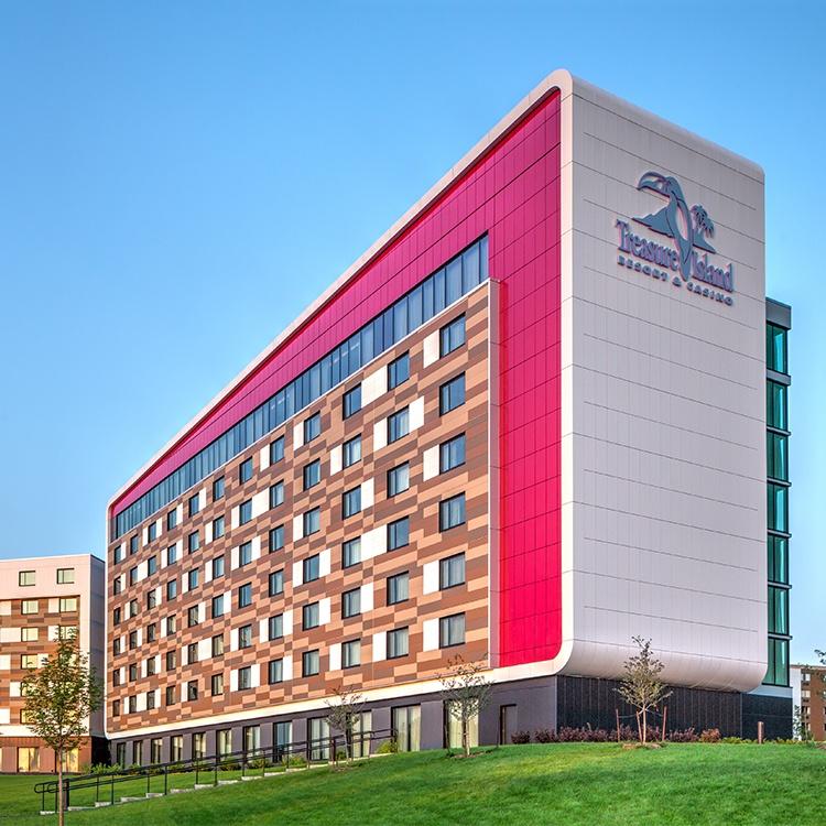 Hotel Expansion At Treasure Island Resort And Casino Knutson Construction